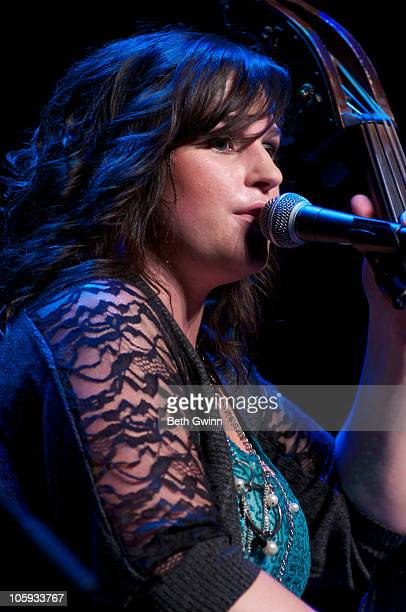 Tensel Sandker of The Next Best Thing peforms at The Loveless Barn on October 19 2010 in Nashville Tennessee