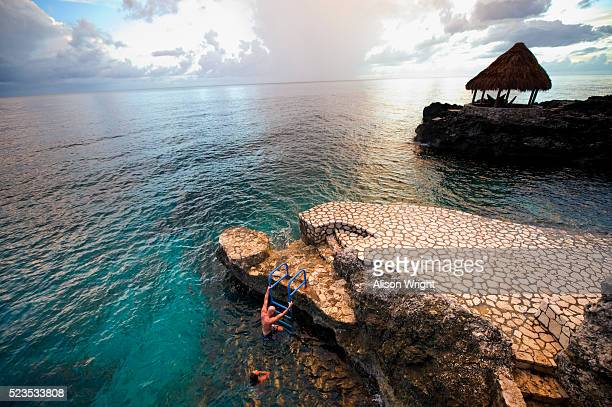 tensing pen hotel, jamaica - montego bay stock pictures, royalty-free photos & images