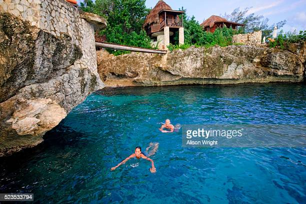 tensing pen hotel, montego bay, jamaica - montego bay stock pictures, royalty-free photos & images