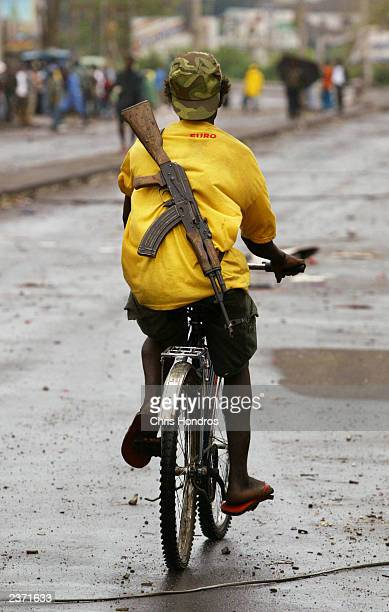 Tensions Ease As Peacekeepers Arrive In Liberia