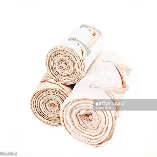 tensor bandage - elastic bandage stock photos and pictures