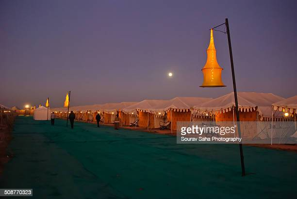 Tent City in Rann of Kutch
