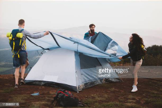 tent construction - solar energy dish stock pictures, royalty-free photos & images