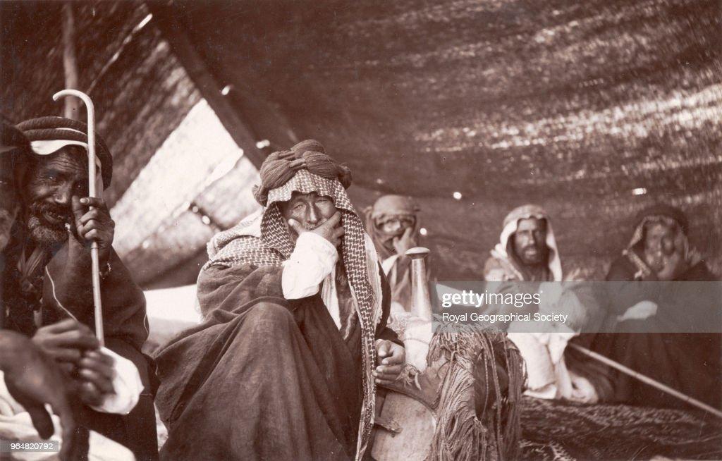 Tent of Fahad Bey, Garah : News Photo