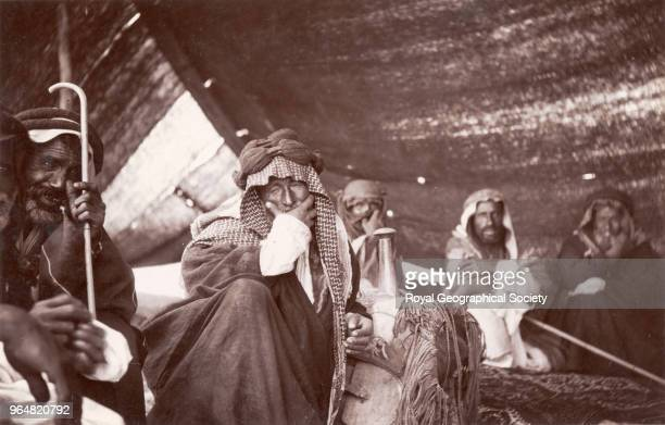 Tent of Fahad Bey Garah Gertrude Bell made frequent trips to Iraq photographing her visits in 1909 191314 and 191618 The exact date of this...