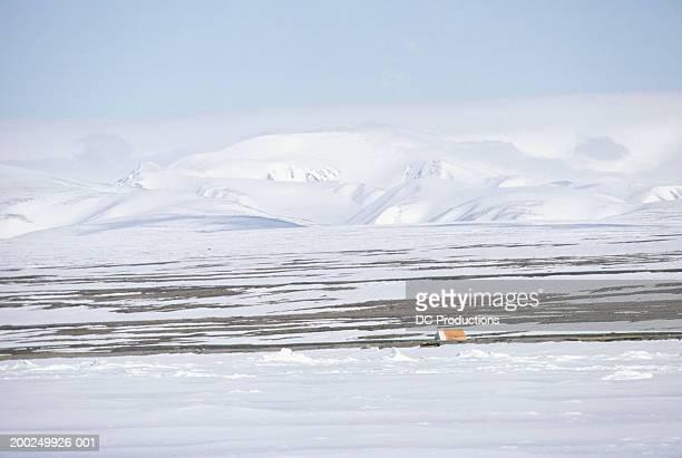 Tent on tundra, Baffin Island, Canada
