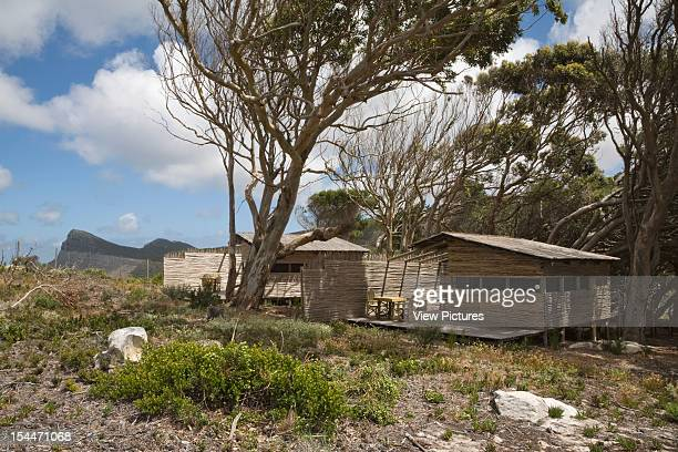 Tented Camp, Smitswinkel Bay, Makeka Design Lab, Table Mountain National Park, South Africa View Of Rustic Hut In Indigenous Landscape, Makeka Design...