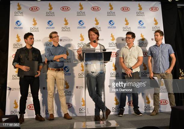 Tenth Avenue North announces nominations for The 44th Annual GMA Dove Awards Nominations Press Conference at Allen Arena, Lipscomb University on...