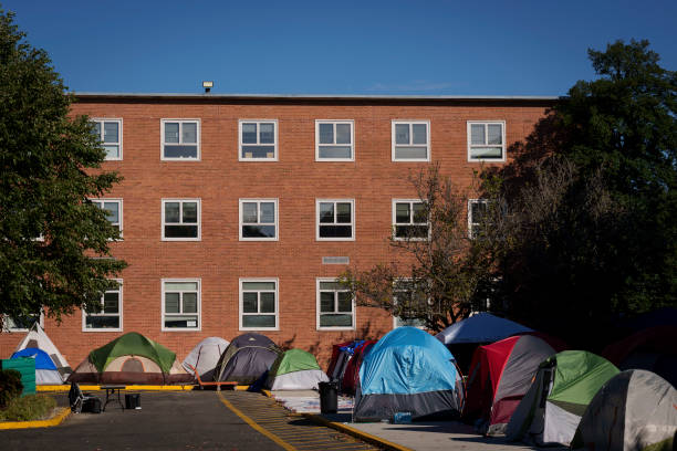 DC: Howard University Students Protest Living Conditions At Dorms On Campus