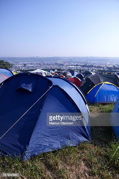 Tents at the festival