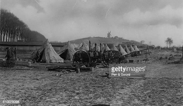 Tents at Ypres France