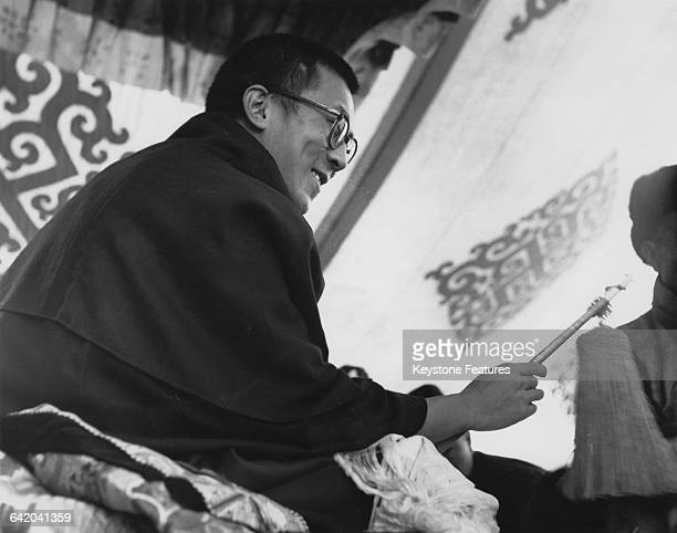 Tenzin Gyatso the 14th Dalai Lama in Gangtok Sikkim India 14th April 1959