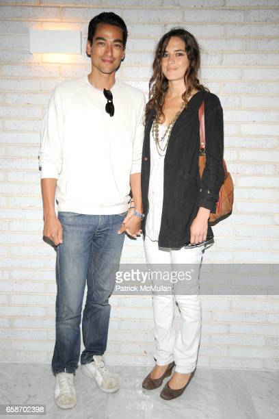 Tenzin Wild and Kara Laine attend Calvin Klein Collection and Visionaire Present Visionaire 56 SOLAR at The Standard on June 1 2009 in New York