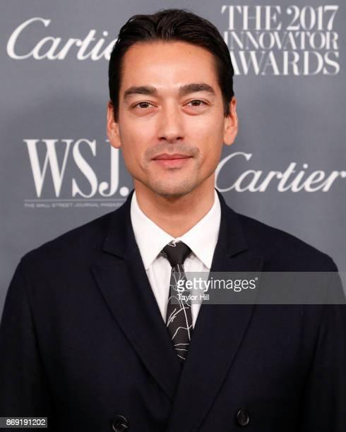Tenzin Wild attends the 2017 WSJ Innovator Awards at Museum of Modern Art on November 1 2017 in New York City