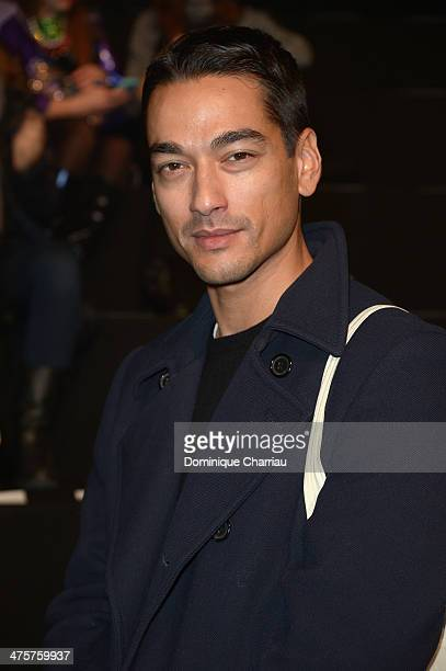 Tenzin Wild attends the ViktorRolf show as part of the Paris Fashion Week Womenswear Fall/Winter 20142015 on March 1 2014 in Paris France
