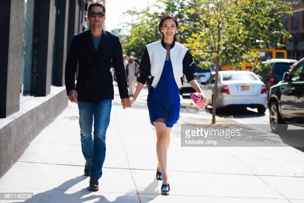 Tenzin Wild Tao Okamoto attend the 31 Phillip Lim show during New York Fashion Week Spring/Summer 2018 on September 11 2017 in New York City
