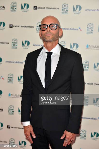 Teo Castellanos from short film 'Third Trinity' is seen during 37th Annual Miami Film Festival presented by Miami Dade College opening night at...