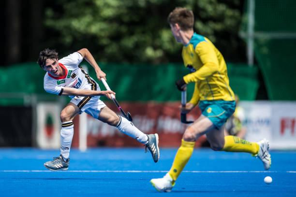 DEU: Germany v Australia - Men's FIH Field Hockey Pro League