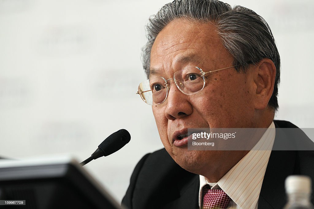 Teo Soon Hoe, senior executive director of Keppel Corp., speaks during a news conference in Singapore, on Thursday, Jan. 24, 2013. Keppel Corp., the world's largest oil-rig maker, posted a 22 percent decline in fourth-quarter profit after contribution from the marine unit fell and higher competition with Chinese shipbuilders depressed margins. Photographer: Munshi Ahmed/Bloomberg via Getty Images