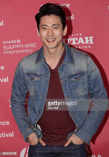 Teo Yoo attends Seoul Searching Premiere during the 2015 Sundance Film Festival on January 30 2015 in Park City Utah