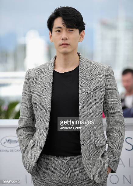 Teo Yoo attends the photocall for Leto during the 71st annual Cannes Film Festival at Palais des Festivals on May 10 2018 in Cannes France