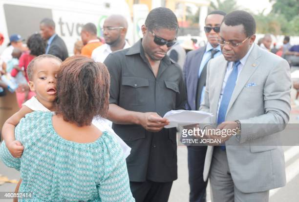 Teodorin Obiang Nguema , the son of Equatorial Guinea's president Teodoro Obiang Nguema and the country's vice president, and the vice-minister in...