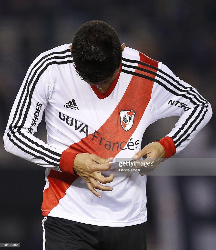 River Plate v Defensa y Justicia - Torneo de Transicion 2014