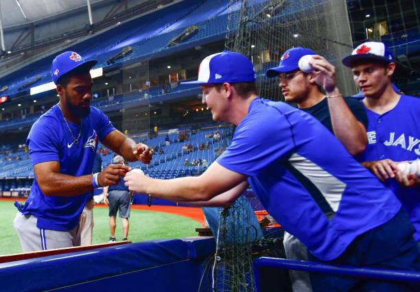 FL: Toronto Blue Jays v Tampa Bay Rays