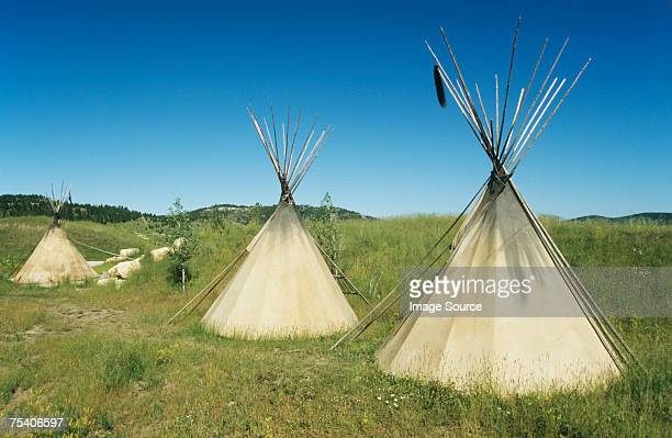 Tepees in wyoming