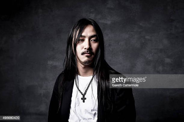 Teppei Fujita designer for the label Sulvam poses for a portrait during the Vogue Fashion Dubai Experience 2015 at The Dubai Mall on October 30 2015...