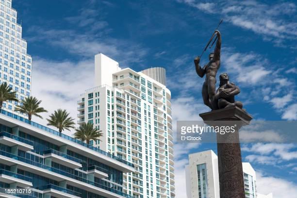 Tequesta Indian Archer Brickell Miami