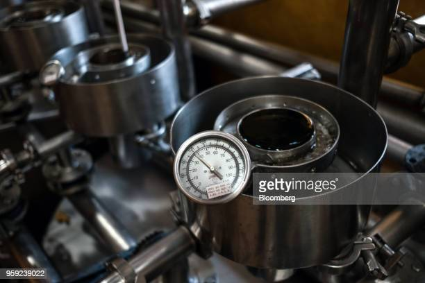 Tequila is tested at the Becle SAB Jose Cuervo distillery in the town of Tequila Jalisco state Mexico on Thursday May 3 2018 Jose Cuervo sales are...