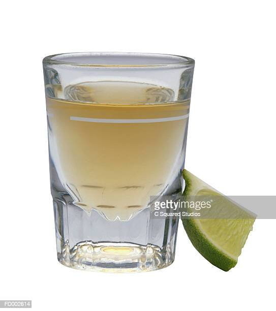 Tequila Shot and Lime