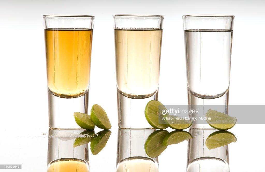 Tequila Shot : Stock Photo