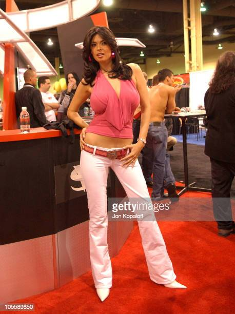 Tera Patrick Adult Film Star during Internext Las Vegas 2005 at Mandalay Bay Hotel Convention Center in Las Vegas Nevada United States