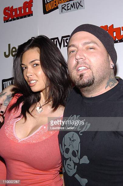 Tera Patrick and Evan Seinfeld during Jeep Activision and Stuff Magazine Launch Tony Hawk's Underground 2 Remix at Marquee in New York New York...