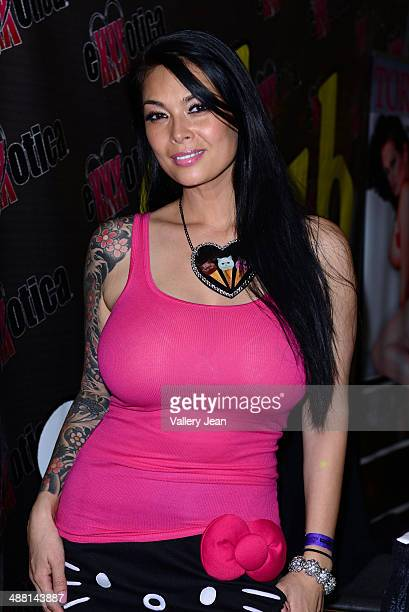Tera Patrick attends Exxxotica 2014 at Broward County Convention Center on May 3 2014 in Fort Lauderdale Florida