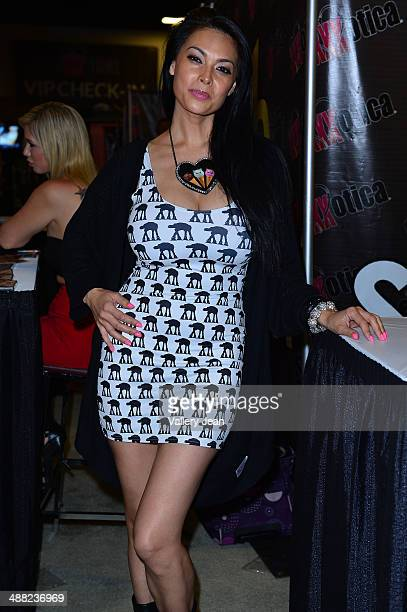 Tera Patrick attends Exxxotica 2014 at Broward County Convention Center on May 4 2014 in Fort Lauderdale Florida