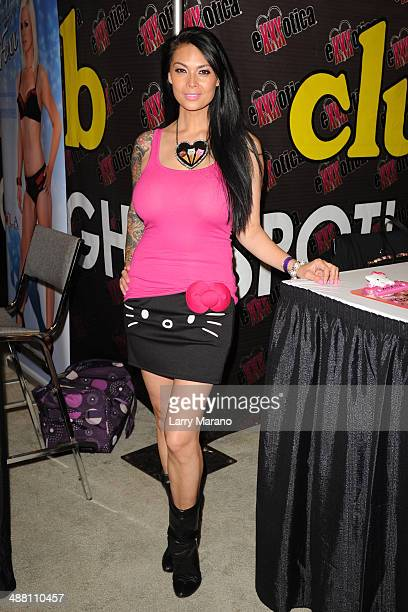 Tera Patrick attends Exxxotica 2014 on May 3 2014 in Fort Lauderdale Florida