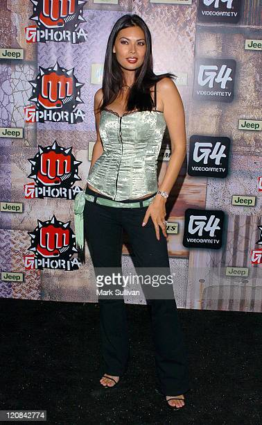 Tera Patrick during 2005 G-Phoria Videogame Awards - Arrivals at Los Angeles Center Studios in Los Angeles, California, United States.
