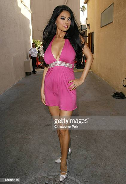 Tera Patrick during First Annual Spike TV's Guys Choice Backstage and Audience at Radford Studios in Los Angeles California United States