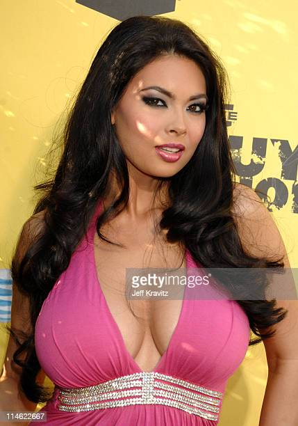 Tera Patrick during First Annual Spike TV's Guys Choice Red Carpet at Radford Studios in Los Angeles California United States