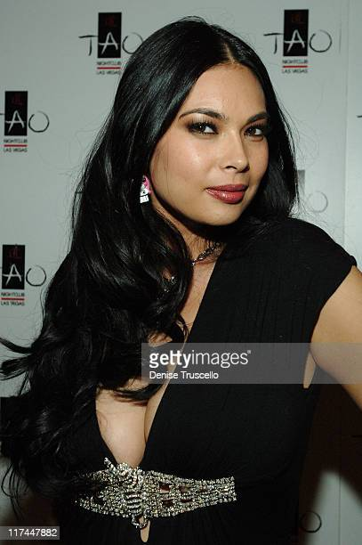 Tera Patrick during TAO Las Vegas Sutra Wednesdays Hosted by Tera Patrick Premiering 'Mistress Couture' Lingerie Red Carpet at TAO Asian Bistro at...
