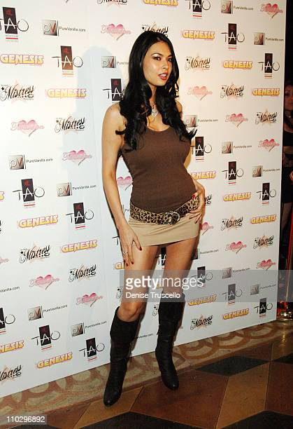 Tera Patrick during Tera Patrick's 2nd Annual Las Vegas Diva Party Debut Fashion Show Arrivals at TAO Nightclub at The Venetian Hotel and Casino...