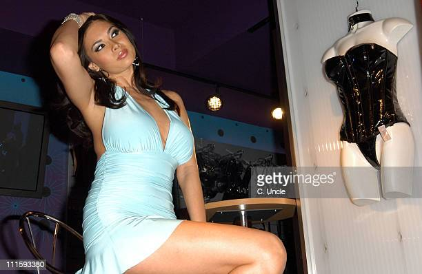 Tera Patrick during Tera Patrick's DVD 'Tera Tera Tera' Launch Photocall at Harmony Store in London Great Britain