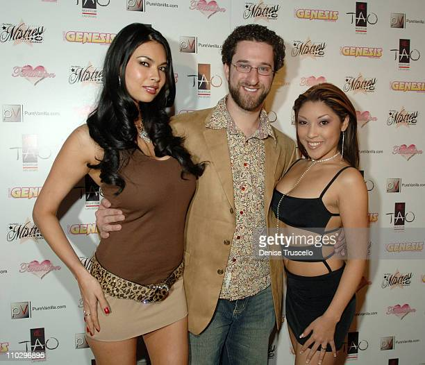 Tera Patrick Dustin Diamond and Nautica Thorn during Tera Patrick's 2nd Annual Las Vegas Diva Party Debut Fashion Show Arrivals at TAO Nightclub at...