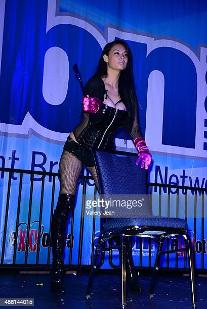 Tera Patrick performs at the Exxxotica 2014 at Broward County Convention Center on May 3 2014 in Fort Lauderdale Florida