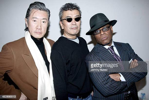 Teragune Utada , L A Reid and guest