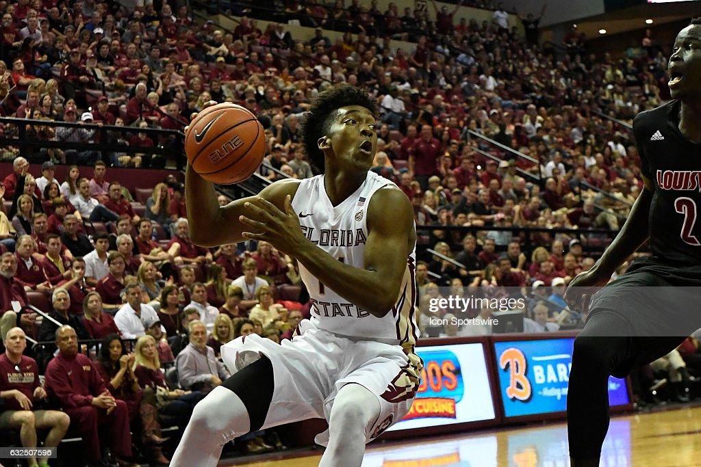 NCAA BASKETBALL: JAN 21 Louisville at Florida State : News Photo