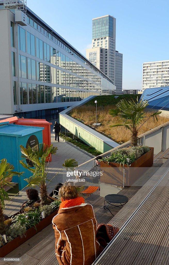Terasse Auf Dem Dach BIKINI BERLIN Shopping In Der City West Boutiquen  Concept Und FlagshipStores Gastronmie